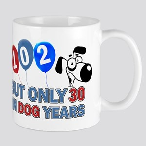 102 Birthday Design Mugs